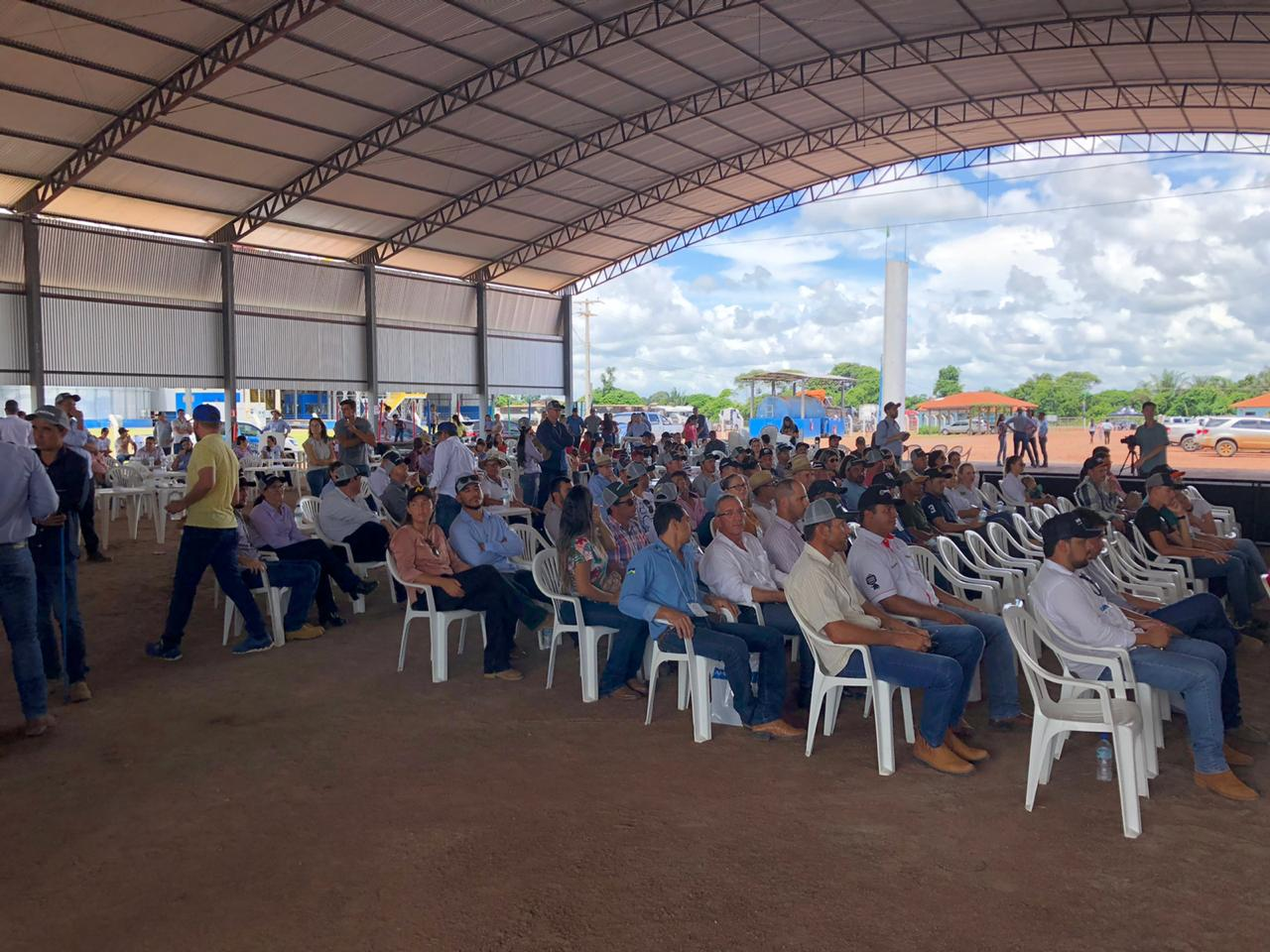 Circuito Tecnológico da Soja, realizado em Ariquemes (RO), no dia 11 de janeiro de 2020.