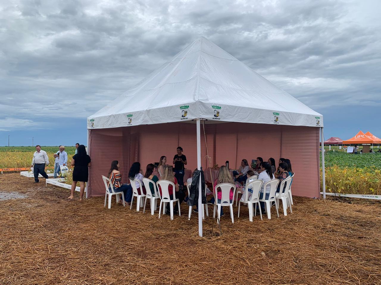 Circuito Tecnológico da Soja, realizado em Sapezal (MT), no dia 16 de janeiro de 2020.
